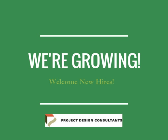 Were-growing Welcome New Hires